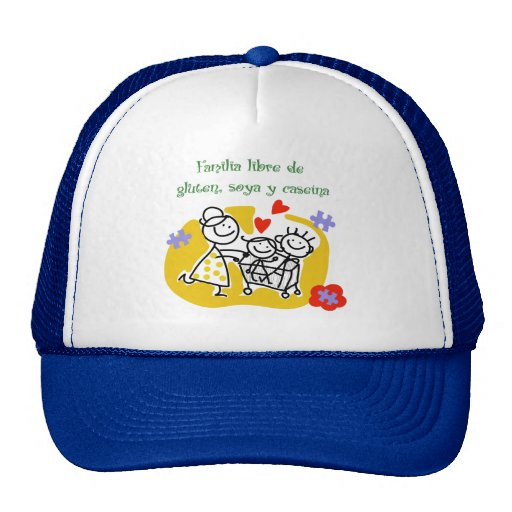 Free family of Gluten, Soy and Casein Mesh Hats