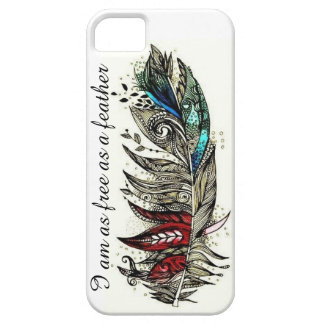 Free Feather iPhone SE/5/5s Case
