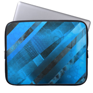 Free Floating (blue) Computer Sleeve