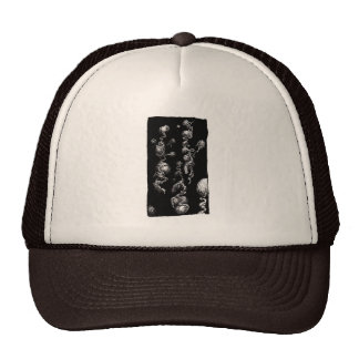 Free-floating Organic Aberrations Trucker Hat