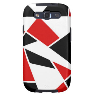 Free Floating Shapes Galaxy S3 Covers