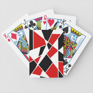 Free Floating Shapes Deck Of Cards