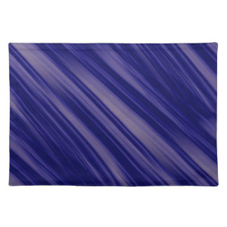 Free Flowing Movement Abstract Cloth Place Mat