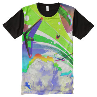 FREE FLY FF-09 PontoCentral All-Over-Print T-Shirt