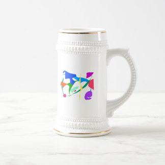 Free Flying from the Airport to a Cloud Above Coffee Mug
