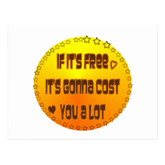 Free - Free? Post Card