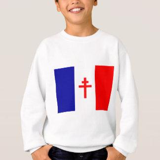 Free French Forces Flag Sweatshirt