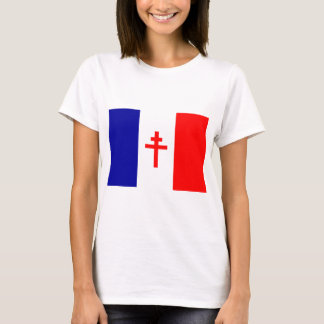 Free French Forces Flag T-Shirt