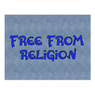 Free From Religion Postcard