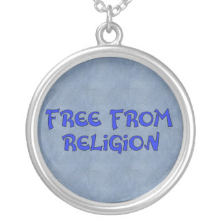 Free From Religion Silver Plated Necklace