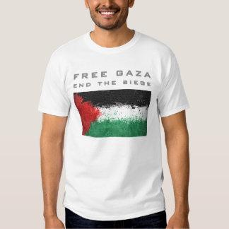 Free Gaza - end the siege Tees