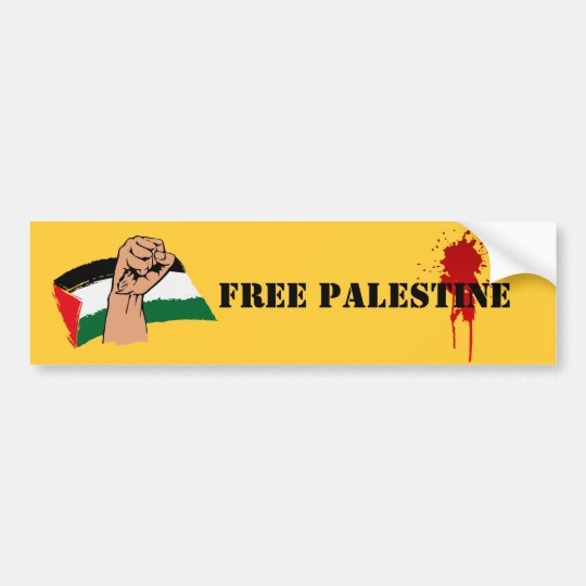 Boycott Israel Sticker Sticker Vinyl Bumper Sticker Decal Waterproof 5 Free Palestine