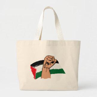 Free Gaza Free Palestine Large Tote Bag