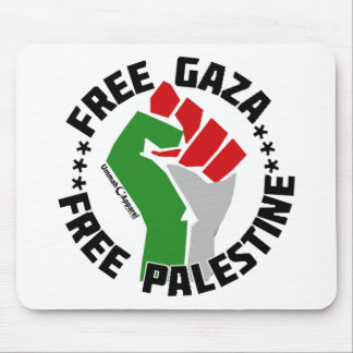 free gaza free palestine mouse pad