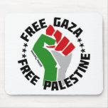 free gaza free palestine mousepads