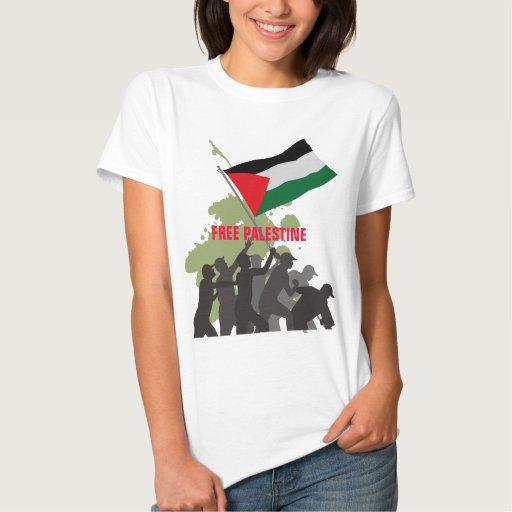 Free Gaza free Palestine T Shirt
