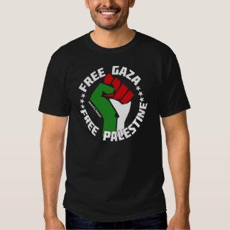 free gaza free palestine tee shirt