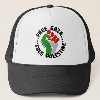 free gaza free palestine trucker hat