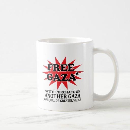 FREE GAZA - Funny remake Mug