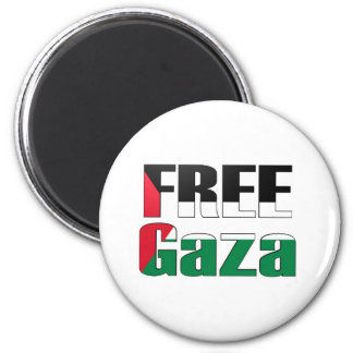 Free Gaza Magnet