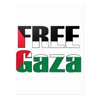 Free Gaza Postcard