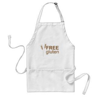 Free Gluten Adult Apron
