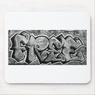 Free Graffiti Mouse Pad