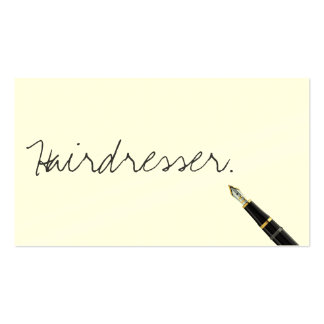 2000 handwriting business cards and handwriting business for Handwritten business cards