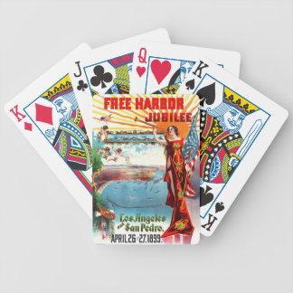 Free Harbor Jubilee 1899 Deck Of Cards