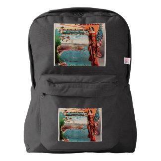 Free Harbor Jubilee, Los Angeles and San Pedro. American Apparel™ Backpack