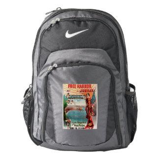 Free Harbor Jubilee, Los Angeles and San Pedro. Backpack