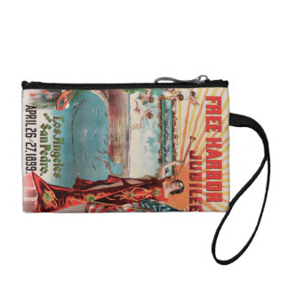 Free Harbor Jubilee, Los Angeles and San Pedro. Coin Wallet