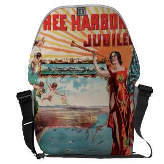 Free Harbor Jubilee, Los Angeles and San Pedro. Courier Bag