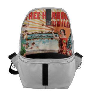 Free Harbor Jubilee, Los Angeles and San Pedro. Messenger Bag