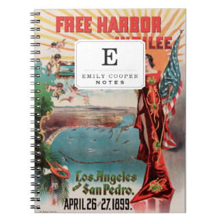 Free Harbor Jubilee, Los Angeles and San Pedro. Notebook