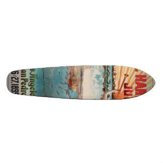 Free Harbor Jubilee, Los Angeles and San Pedro. Skateboard
