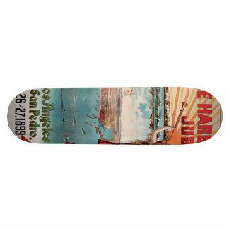 Free Harbor Jubilee, Los Angeles and San Pedro. Skateboard Deck