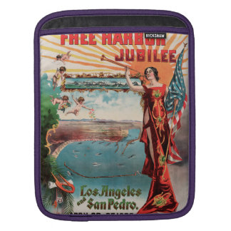 Free Harbor Jubilee, Los Angeles and San Pedro. Sleeve For iPads