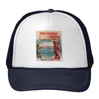Free Harbor Jubilee, Los Angeles and San Pedro. Trucker Hat
