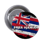 Free Hawaii Flag Button