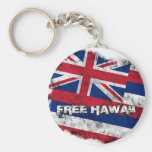 Free Hawaii Flag Key Chain
