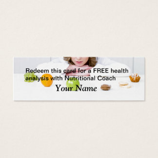 FREE Health Analysis Mini Business Card