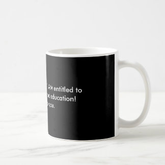 Free Health Care & Education Classic White Coffee Mug
