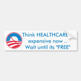 Free HEALTHCARE Bumper Sticker