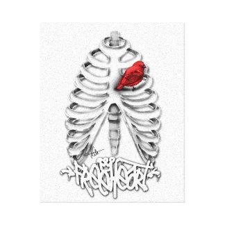 Free Heart Impresión En Lona Estirada
