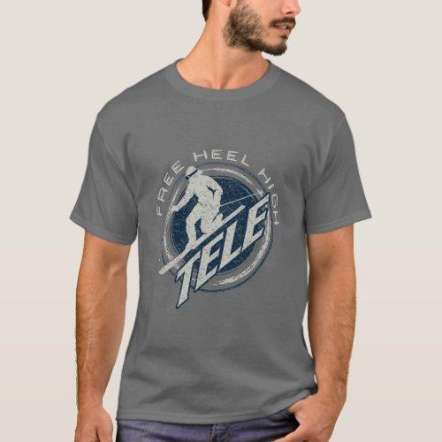 Free Heel High Dark T_Shirt