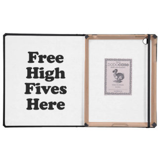 Free High Fives Here iPad Cover