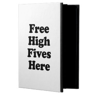 Free High Fives Here iPad Air Covers