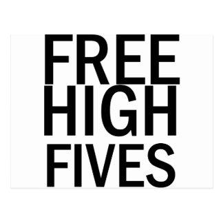 Free High Fives Postcard