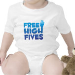 Free High Fives Rompers
